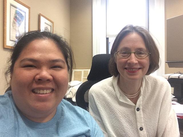 With my dear program officer, Grace