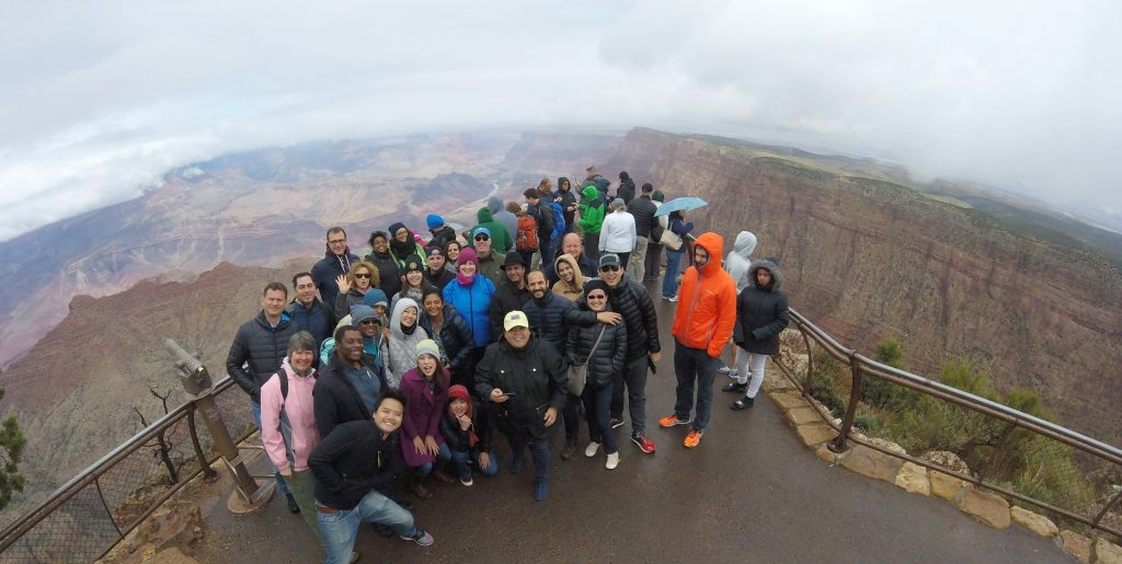 At The Grand Canyon With the 2016 Multi Nation Program Eisenhower Fellows